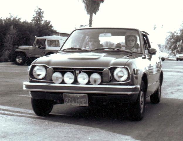 1973 HONDA CIVIC RALLYE
