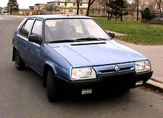 1988 Skoda Favorit 135 SL